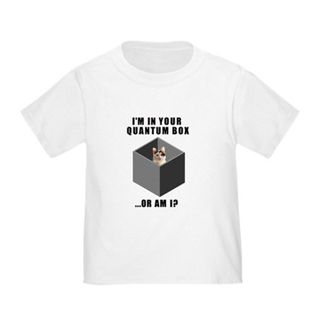 Schrodinger's Quantum Cat Toddler T-Shirt