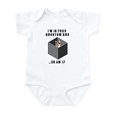 Schrodinger's Quantum Cat Infant Bodysuit