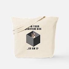 Schrodinger's Quantum Cat Tote Bag