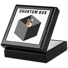 Schrodinger's Quantum Cat Keepsake Box