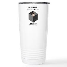 Schrodinger's Quantum Cat Travel Mug