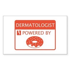 Dermatologist Powered by Doughnuts Decal