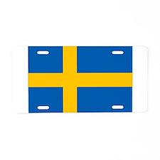 Sweden Aluminum License Plate