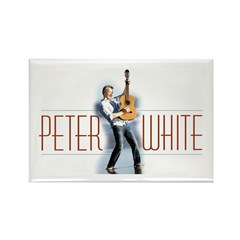 Peter White D1 (color) Rectangle Magnet