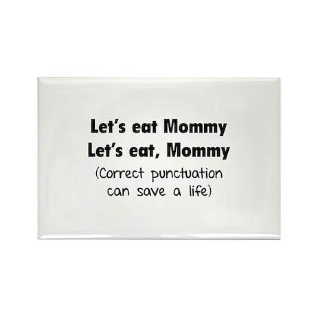 Let's eat Mommy Rectangle Magnet (100 pack)