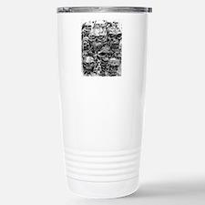 skulls dark ink Travel Mug