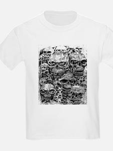 skulls dark ink T-Shirt