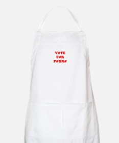 VOTE FOR PEDRO BBQ Apron