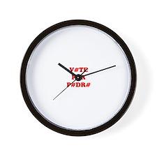VOTE FOR PEDRO Wall Clock