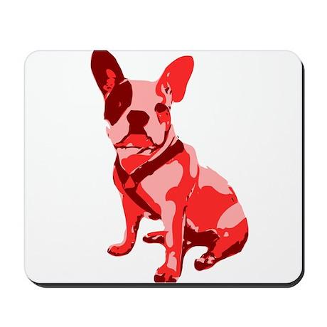 Bulldog Retro Dog Mousepad
