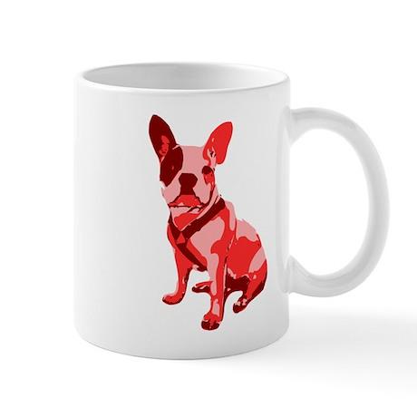 Bulldog Retro Dog Mug