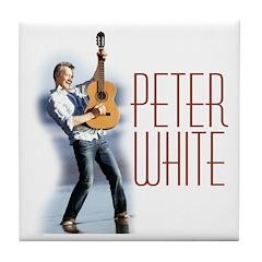 Peter White D2 (color) Tile Coaster