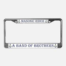 Masonic Riders License Plate Frame