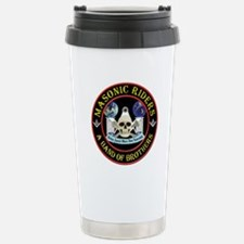 Masonic Biker Brothers Travel Mug