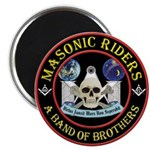 Masonic Biker Brothers Magnet