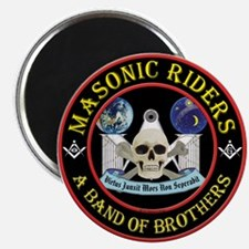 "Masonic Biker Brothers 2.25"" Magnet (10 pack)"