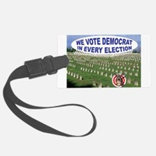 DEAD VOTERS Luggage Tag