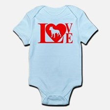 PIT BULL LOVE Infant Bodysuit