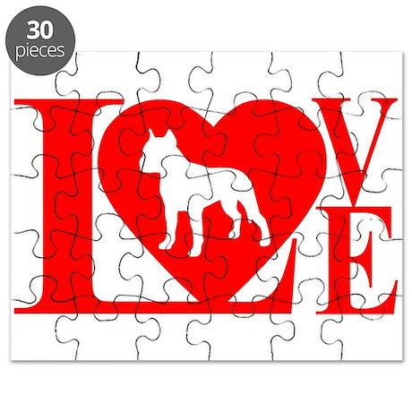 PIT BULL LOVE Puzzle