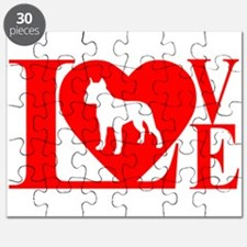 PIT BULL LOVE Puzzle