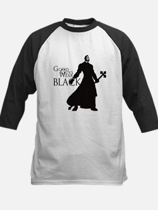 Good Guys Wear Black Kids Baseball Jersey