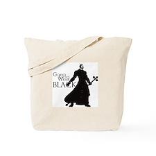 Good Guys Wear Black Tote Bag