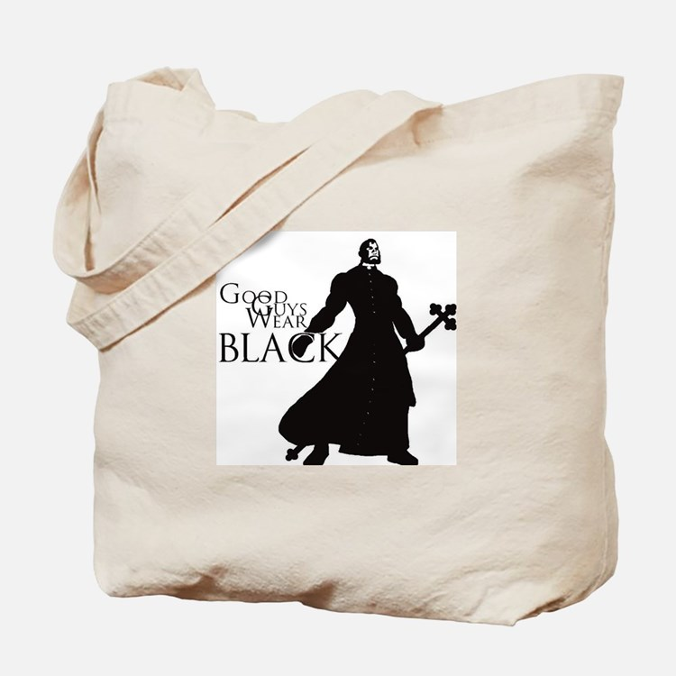 Good Guys Wear Black Tote Bag