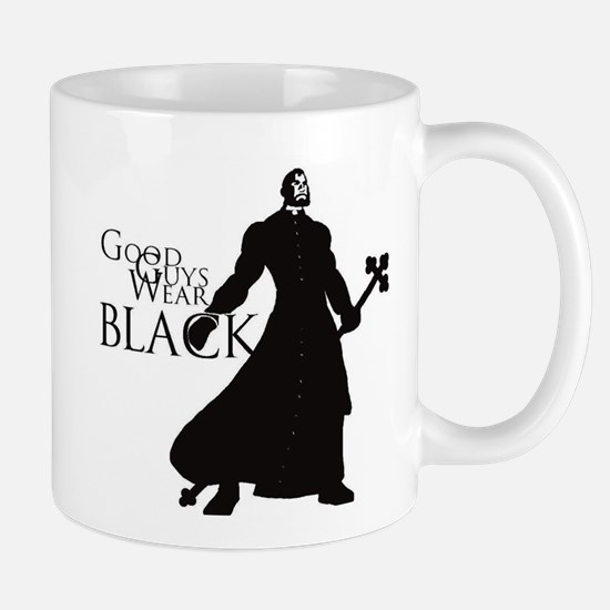 Good Guys Wear Black Mug