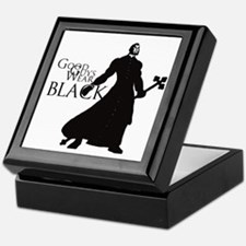 Good Guys Wear Black Keepsake Box