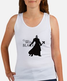 Good Guys Wear Black Women's Tank Top