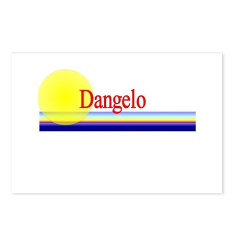 Dangelo Postcards (Package of 8)