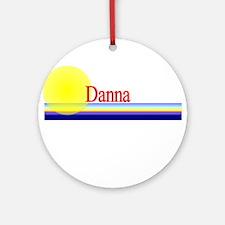 Danna Ornament (Round)