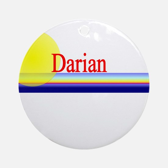 Darian Ornament (Round)