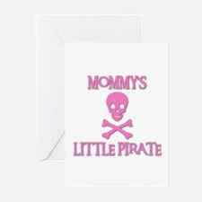 MOMMY'S LITTLE PIRATE Greeting Cards (Pk of 10