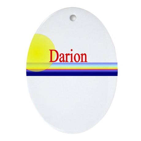 Darion Oval Ornament