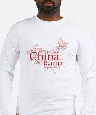 Cities of China Long Sleeve T-Shirt
