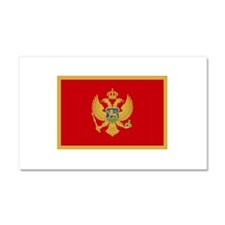 Montenegro Car Magnet 20 x 12