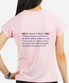 The Pledge of Allegiance Performance Dry T-Shirt