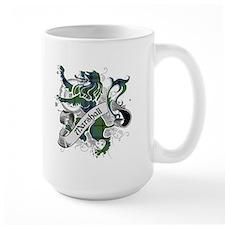Marshall Tartan Lion Mug