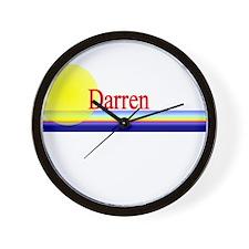 Darren Wall Clock