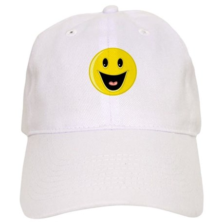 Laughing Smiley Face Cap