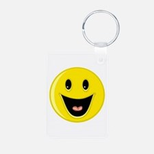 Laughing Smiley Face Keychains