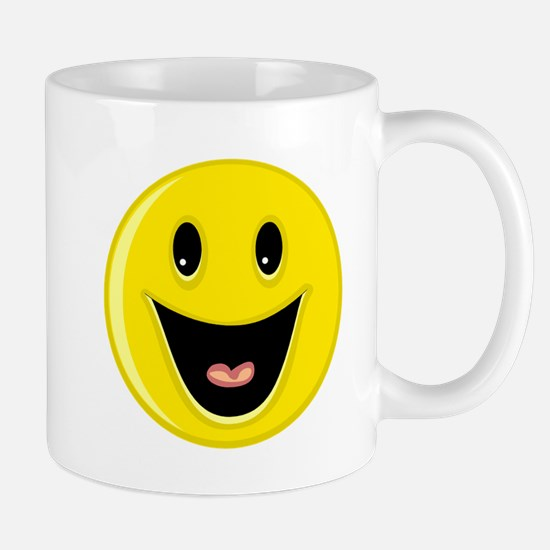 Laughing Smiley Face Mug