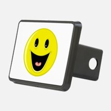 Laughing Smiley Face Hitch Cover