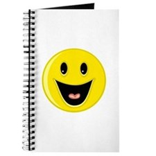 Laughing Smiley Face Journal