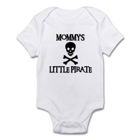 MOMMY'S LITTLE PIRATE Infant Creeper