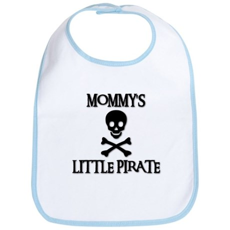 MOMMY'S LITTLE PIRATE Bib