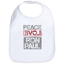 Peace, Love, Ron Paul Bib