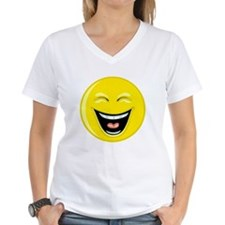 Laughing Smiley Face Shirt