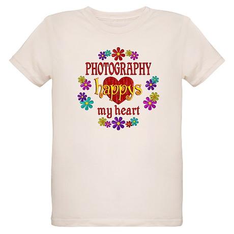 Photography Happy Organic Kids T-Shirt